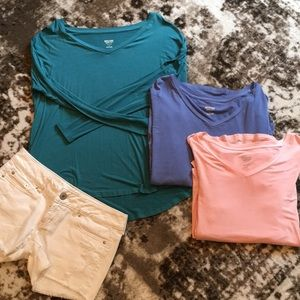 Set of 3 long sleeve tees 🌺
